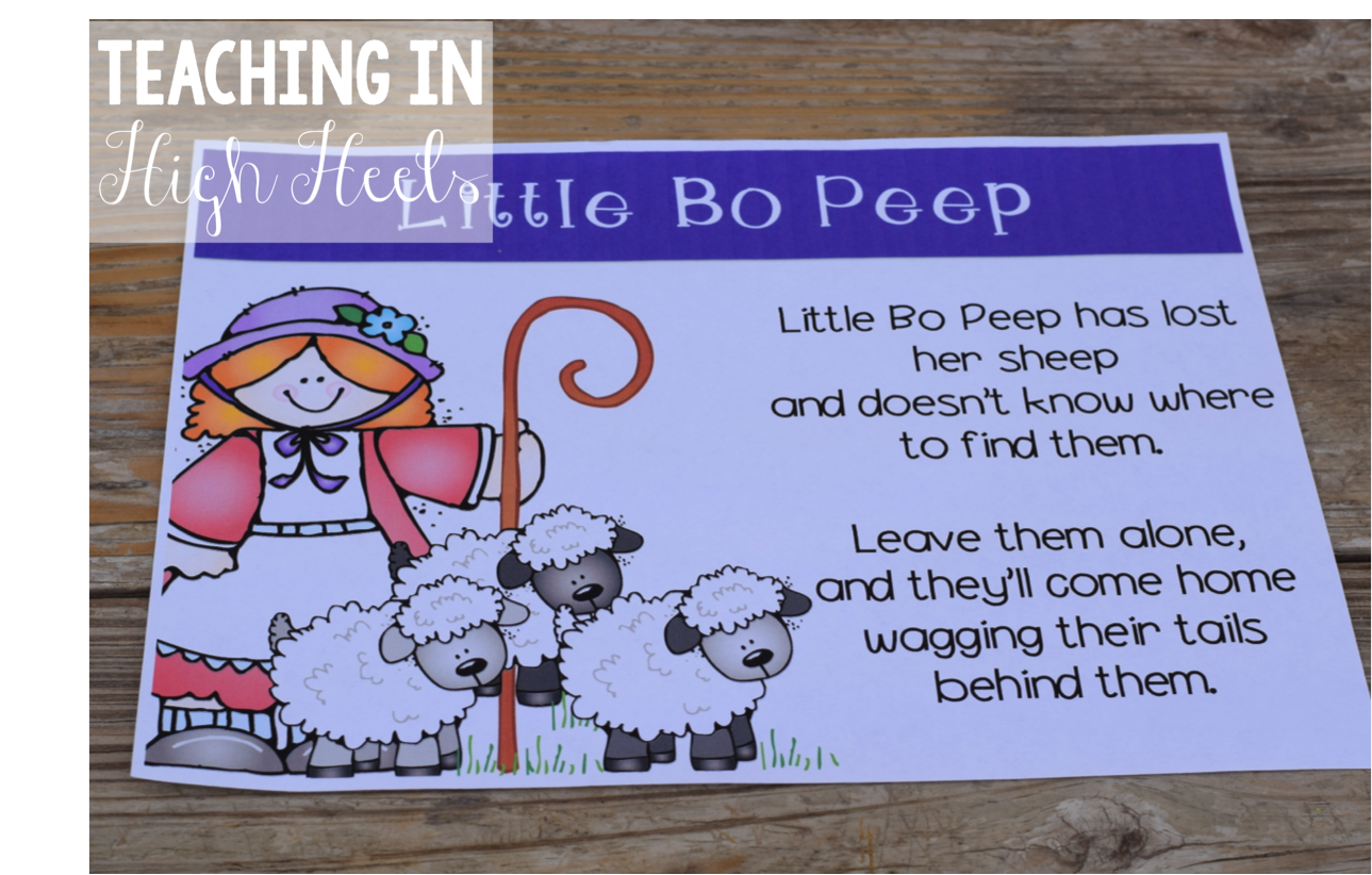 Close Reading Nursery Rhyme Edition Part 2 Teaching In