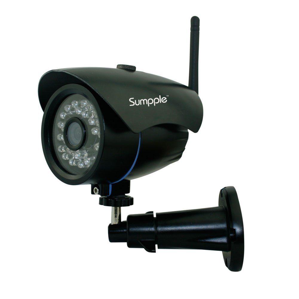 Sumpple S631 Caméra IP de surveillance WiFi/Filaire 1080P Extérieur ...
