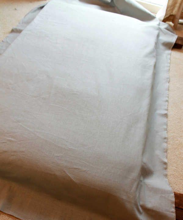 como hacer cabeceros de cama forrar cabecero tela ideas Pinterest