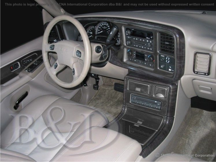 Details About Gmc Sierra Denali 2003 2004 2005 2006 Dash Trim Kit