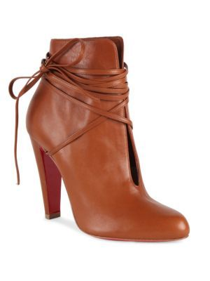 ed3f54031322 S.I.T. Rain Wrap Red Sole Bootie