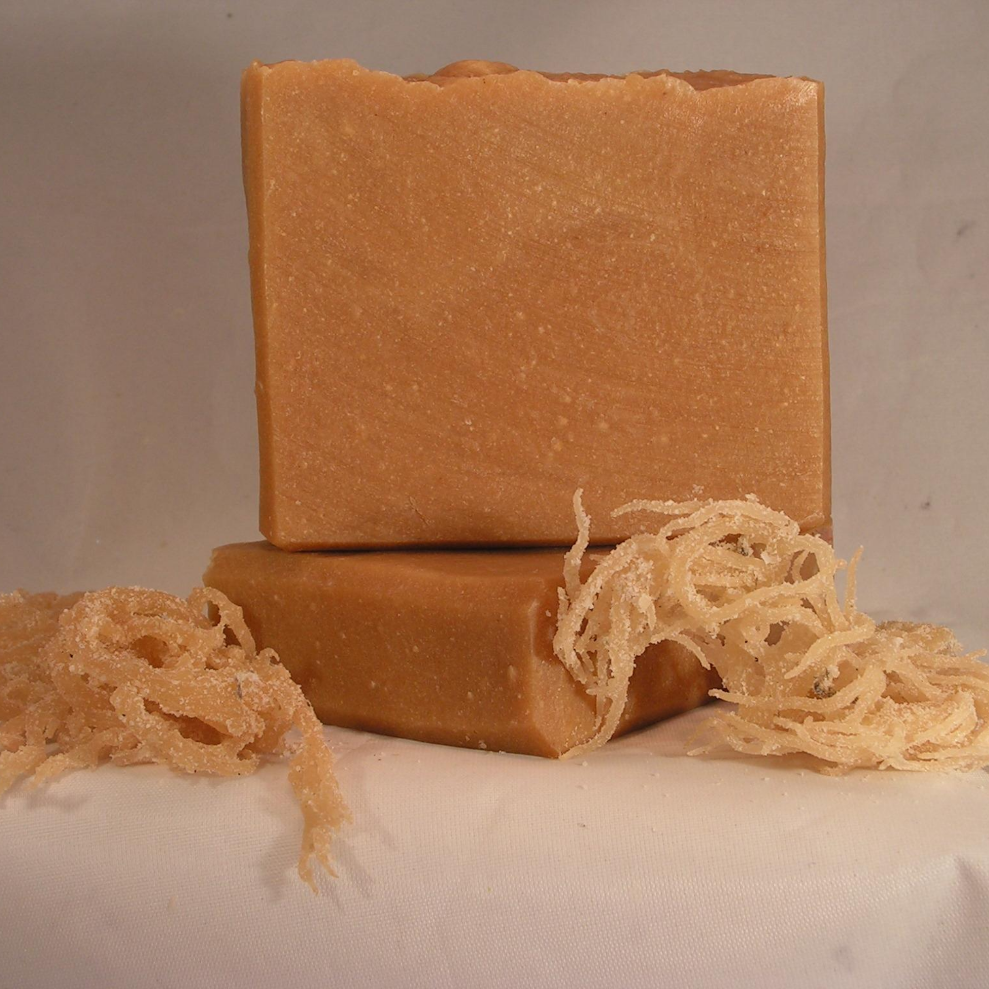 Sea Moss Turmeric Hot Process Soap Leaves Your Skin Feeling Refreshed Handmade Artisan Soaps Turmeric Soap Handmade Soap
