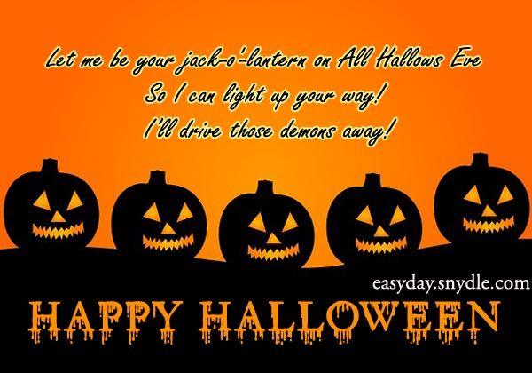 Merveilleux Happy Halloween Sayings