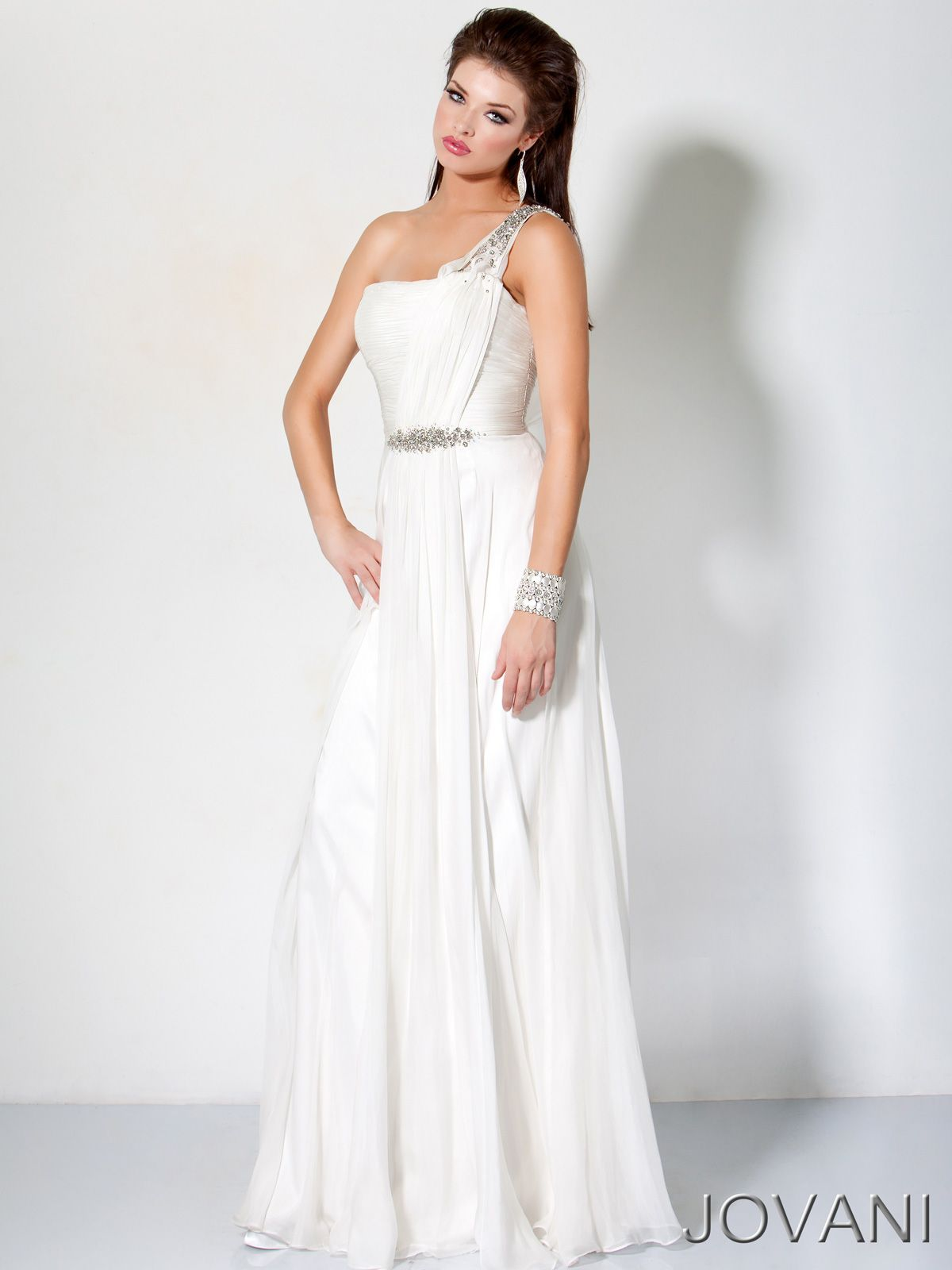 Grecian inspired pageant evening gown jovani embrace this hot