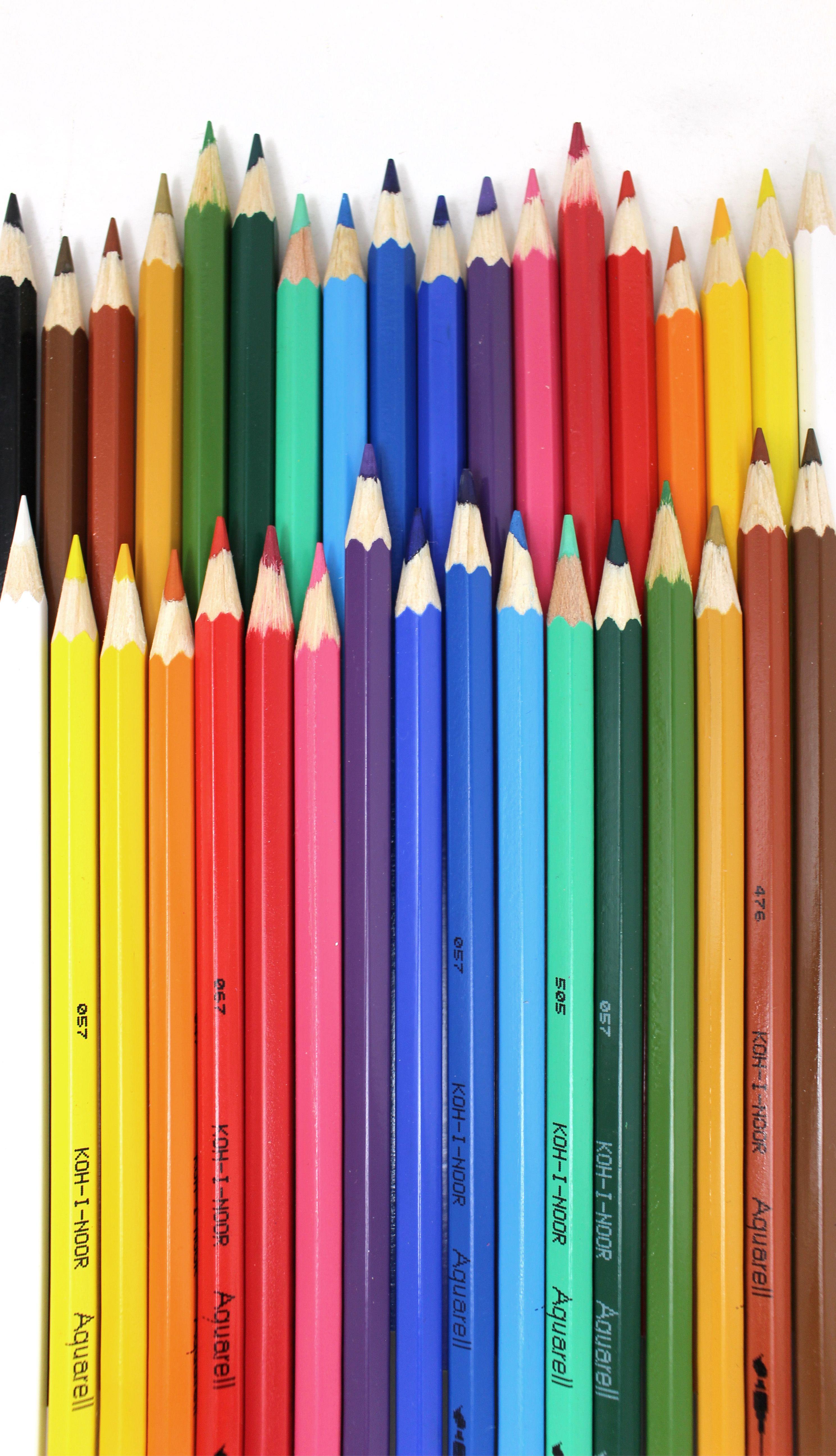 Koh I Noor Set Of 18 Coloured Aquarelle Watercolour Pencils
