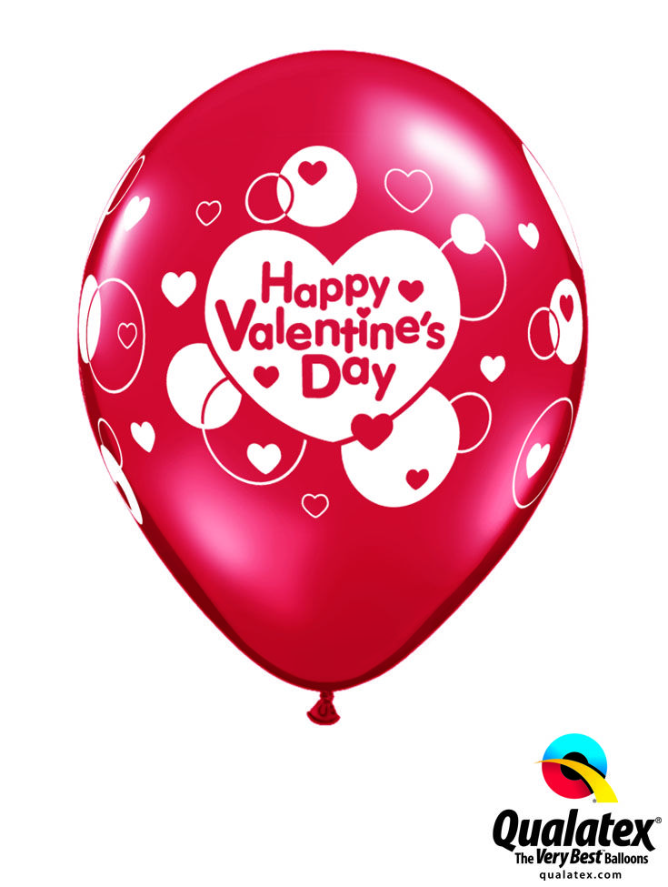 This red latex balloon will send sweet messages to all your loved ones! #qualatex #balloon #love #heart #red #valentines