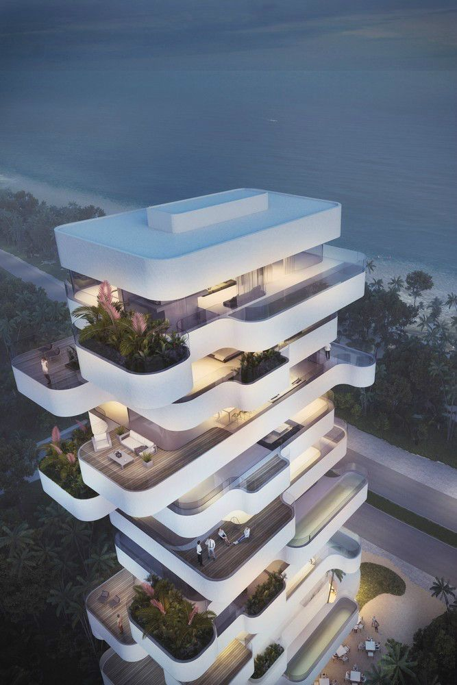 Nice elegant residential tower with a view limassol beach for Nice hotel design