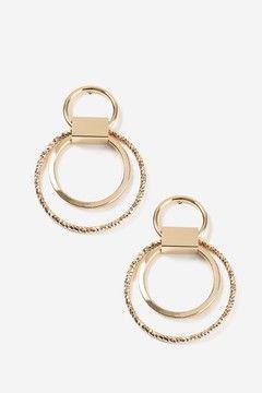 Multi Hoop Drop Earrings