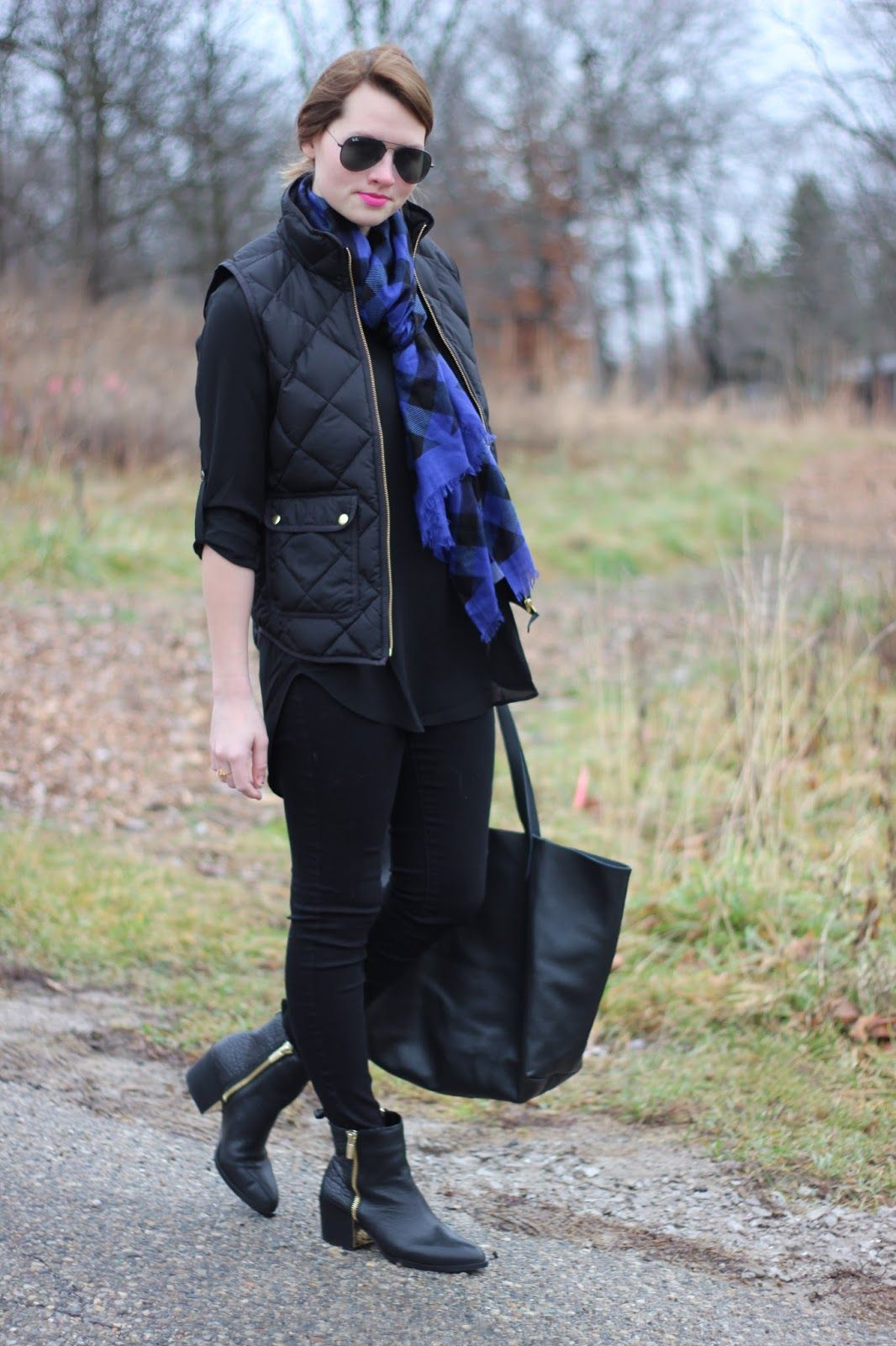 Alpine Buffalo Check + 5 Ways to Style Your Vera Bradley Scarf