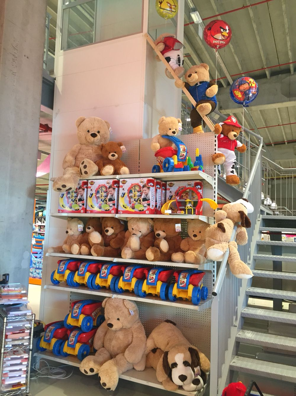 Climing The Stairs #toystore#FUN