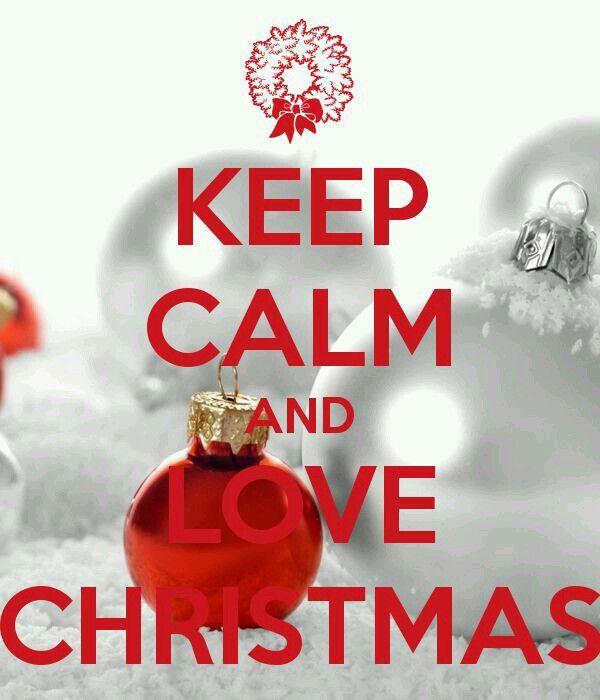 LOVE CHRISTMAS.