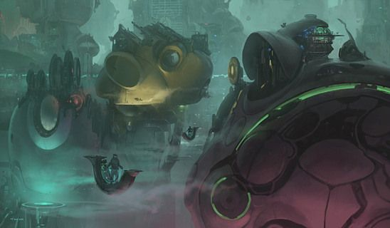 Enjoy the work of Thom Tenery, a concept artist who's recently worked on movie like Tron : Legacy, Lore and Oblivion.