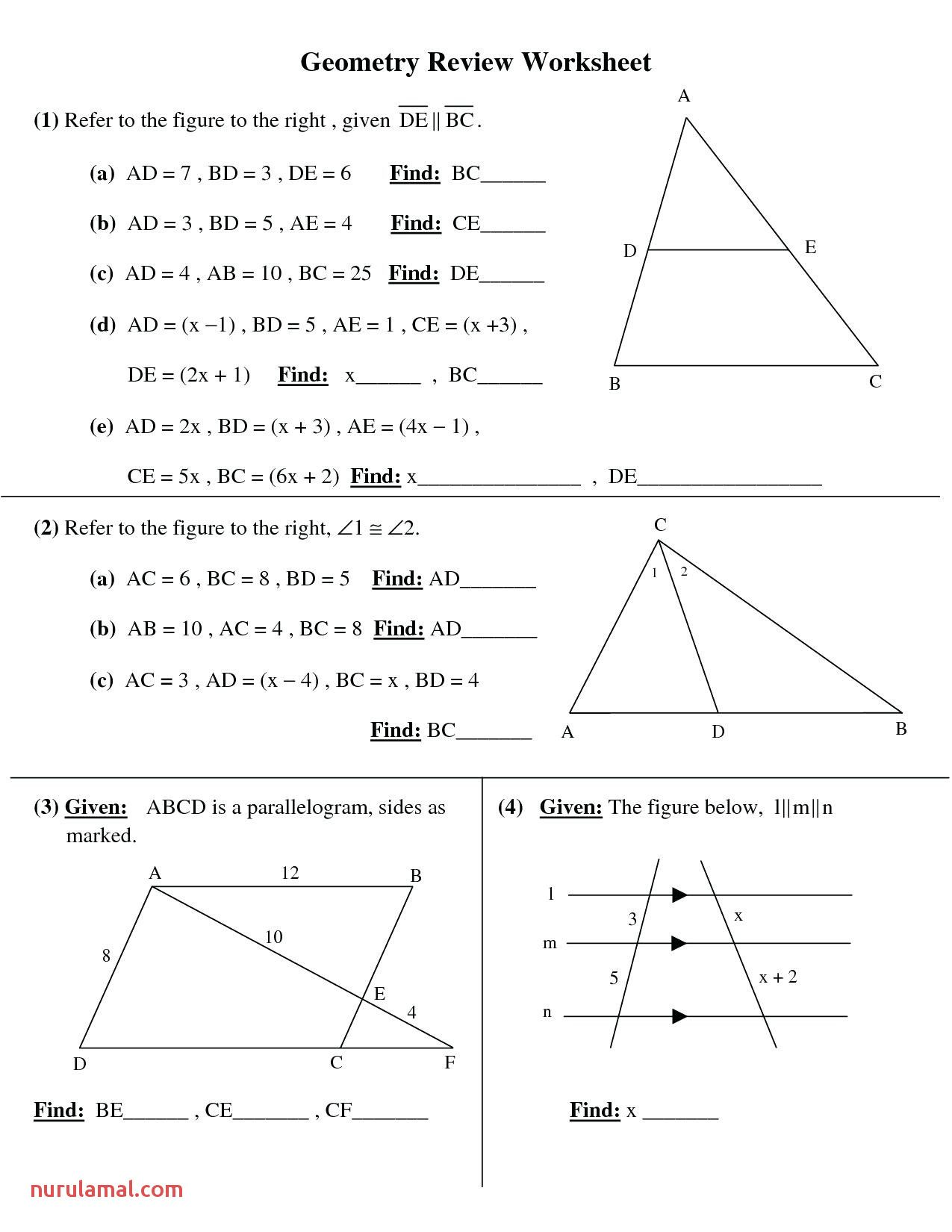 8th Grade Math Worksheets In