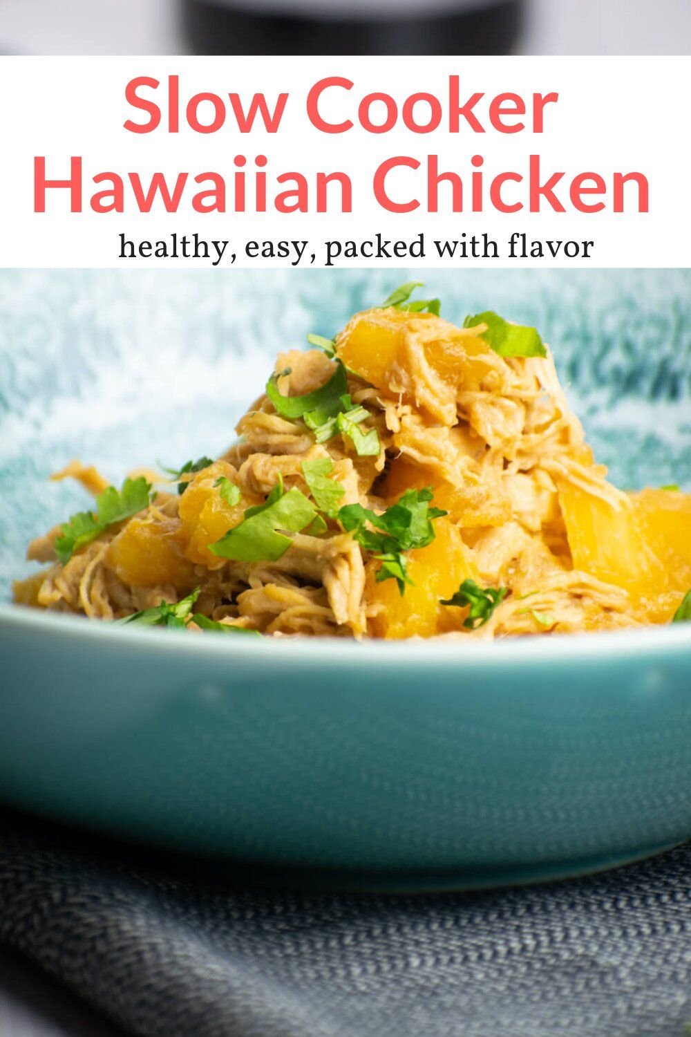 Slow Cooker Hawaiian Chicken Recipe Food Recipes Slow Cooker Recipes Cooking