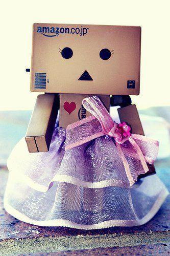 Danbo Wallpaper Quotes Dressed Up Danbo Girl Cute Danbo Box Robot Amazon Box