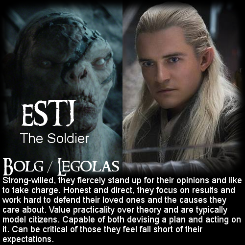 The Hobbit: Battle of the 16 Personalities - Bolg ...