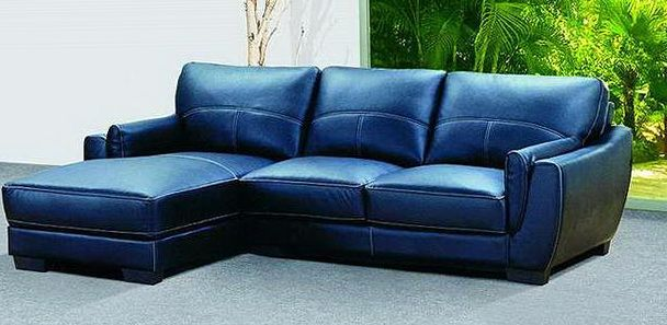 Reasons The Blue Leather Couch Of Best Fit For Your Living Room In
