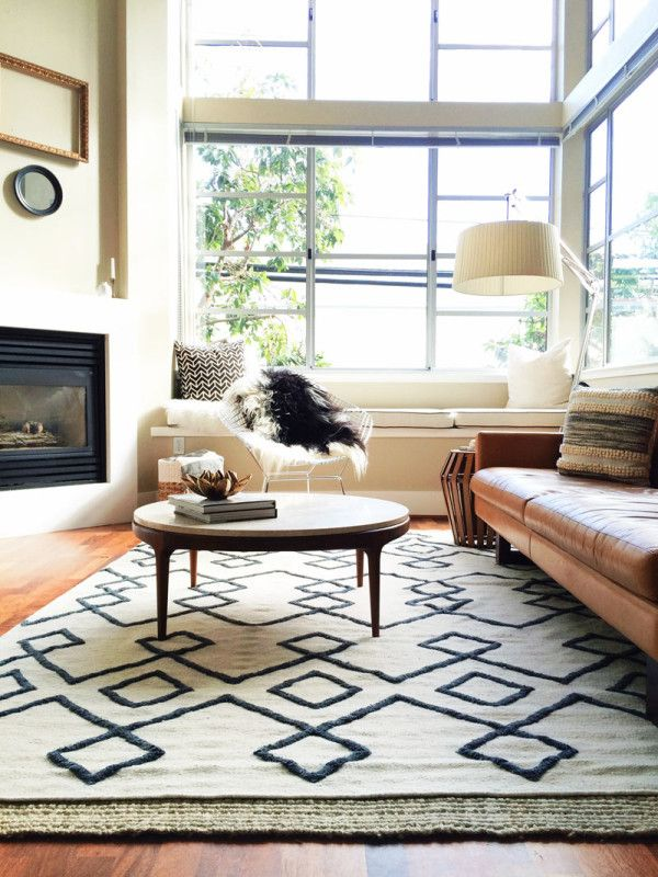 Add Color On Your 5th Wall With Loloi Rugs Rugs In Living Room
