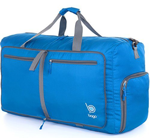 Bago  Travel  Duffel  Bag For  Women    Men -  Foldable  Duffle For   Luggage  Gym  Sports HOLIDAY SPECIAL DEAL - Get Up to 17% Off - See the  Special Offers ... 6ce242eb040e3
