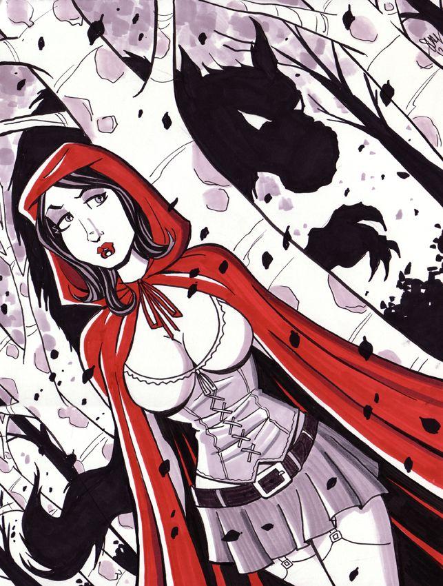 Red Riding Hood by calslayton.deviantart.com on @deviantART