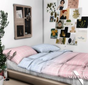 Sims 4 Palette Bed