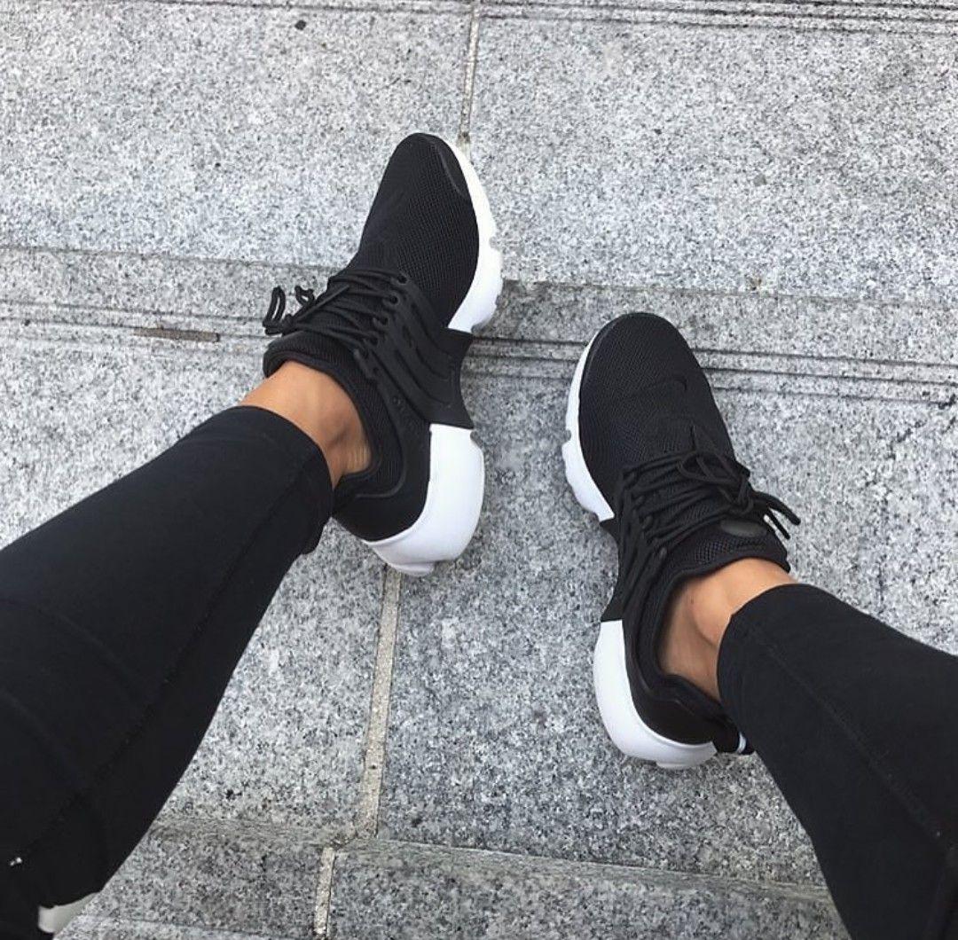 Nike Air Presto In Schwarz Black Foto Dzsakina Instagram Instagram Shoes Black Nike Shoes Black Nikes