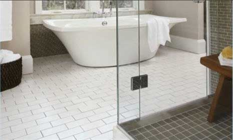 Bathroom Flooring Ideas Tile Floor Cleaning Grout And Household