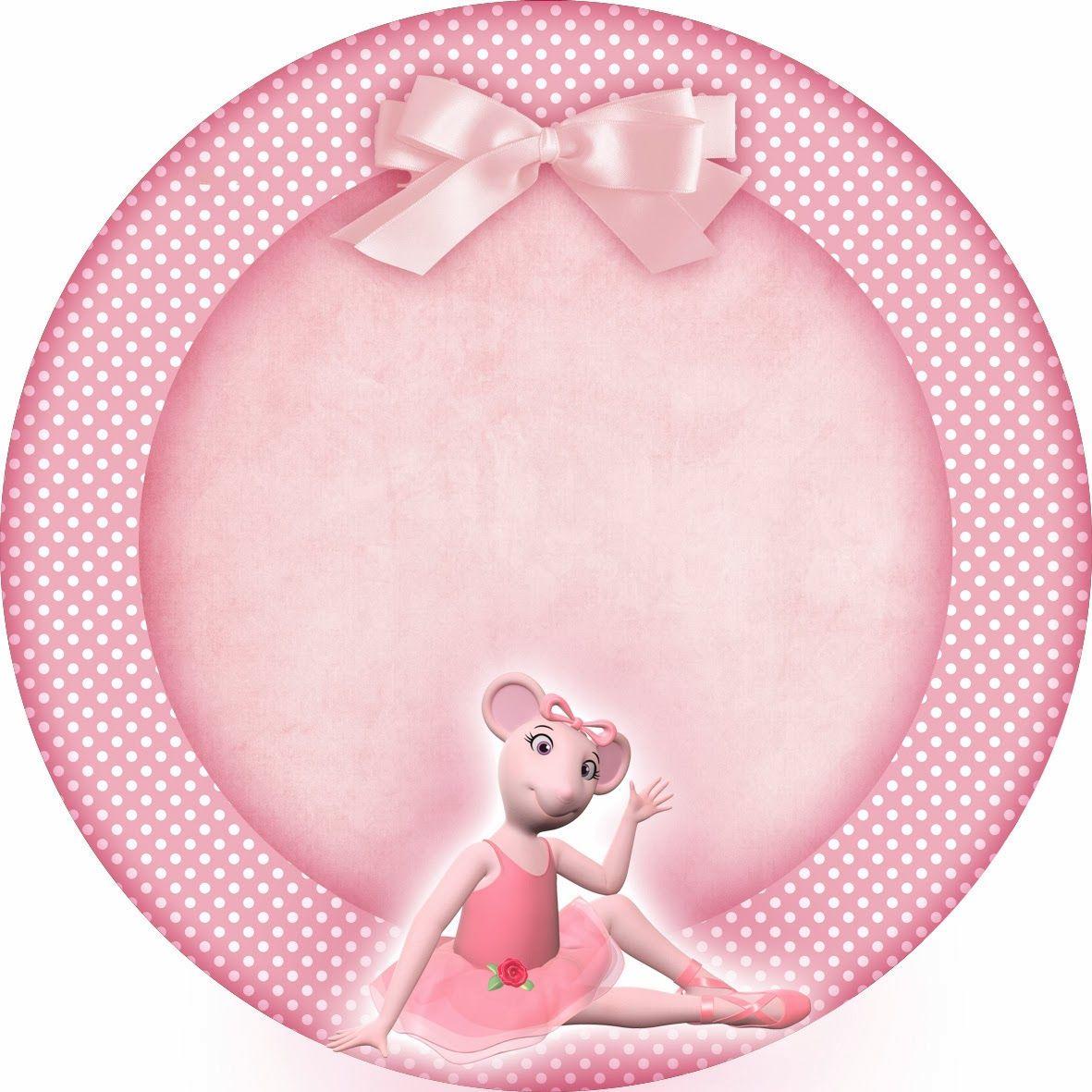 Montando minha festa: Etiquetas escolares - Angelina Ballerina ...