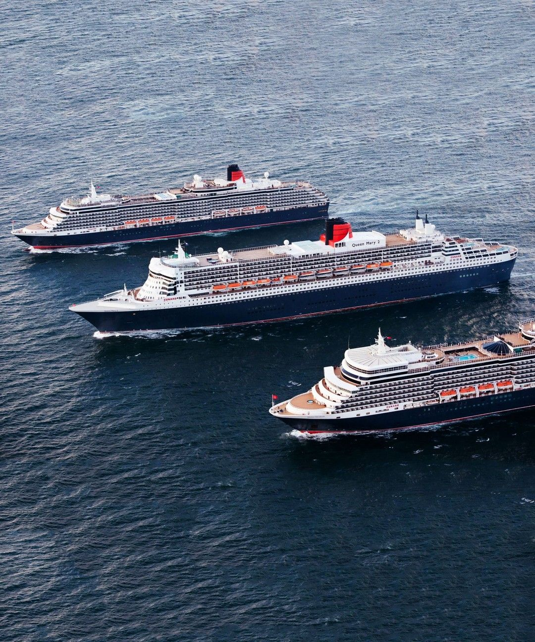 The Three Queens Take Southampton Cunard S Fleet Will Be Reunited In Southampton Again This Friday They Are Due To S Cunard Ships Cunard Cunard Cruise