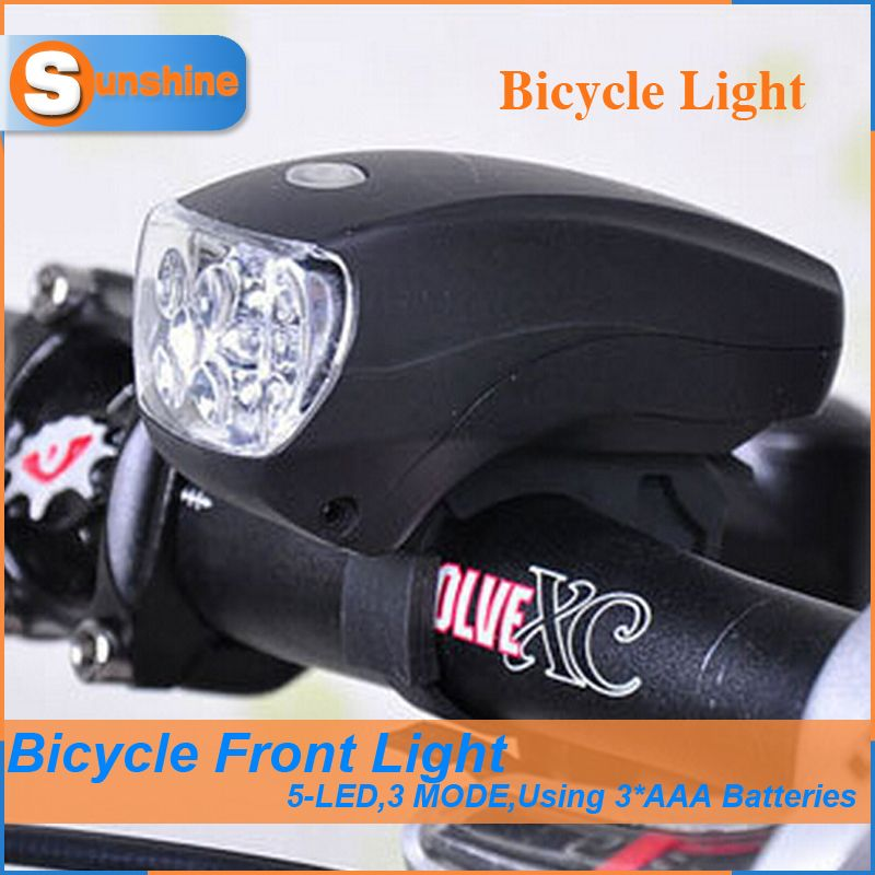 High Quality 5 LED Lamp for Bicycle Mountain Bike Accessories ...
