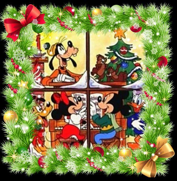 Christmas Mickey & Minnie