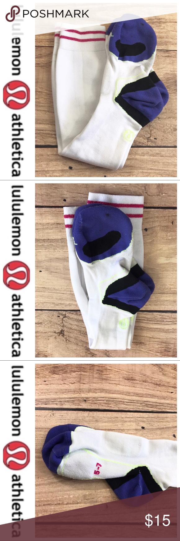 365be1774 💕SALE💕Lululemon White Compression Knee Socks Fabulous 💕Lululemon White  Compression Knee Socks worn once lululemon athletica Accessories Hosiery    Socks