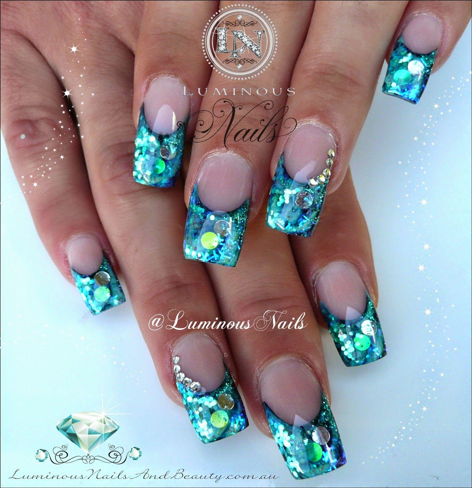 Luminous Nails …   Nails + Art   Pinte…