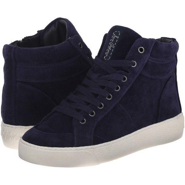 Sam Edelman Britt (Space Blue) Women's Lace up casual Shoes ($40) ❤