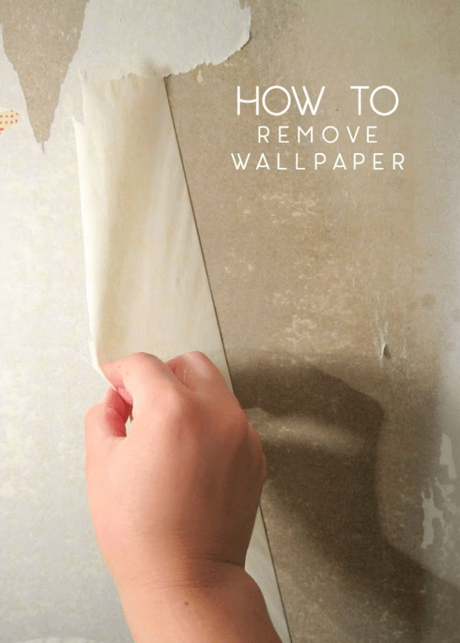 How To Remove Wallpaper Step By Step And On The Cheap Removable Wallpaper Cleaning Painted Walls Cleaning Hacks