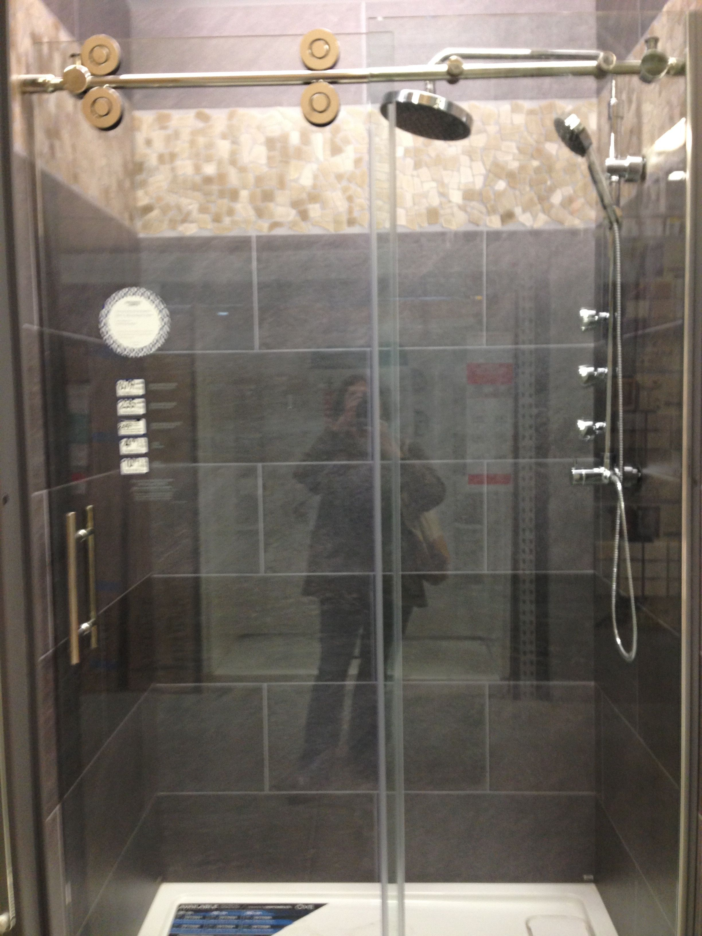 Shower Door At Lowes With Images Shower Doors Shower Bathtub