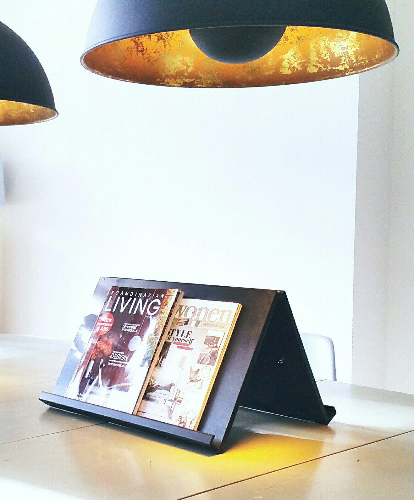 Tijdschriftenrek voor op tafel verkrijgbaar in 2 formaten - Decoratie interieur corridor ingang ...
