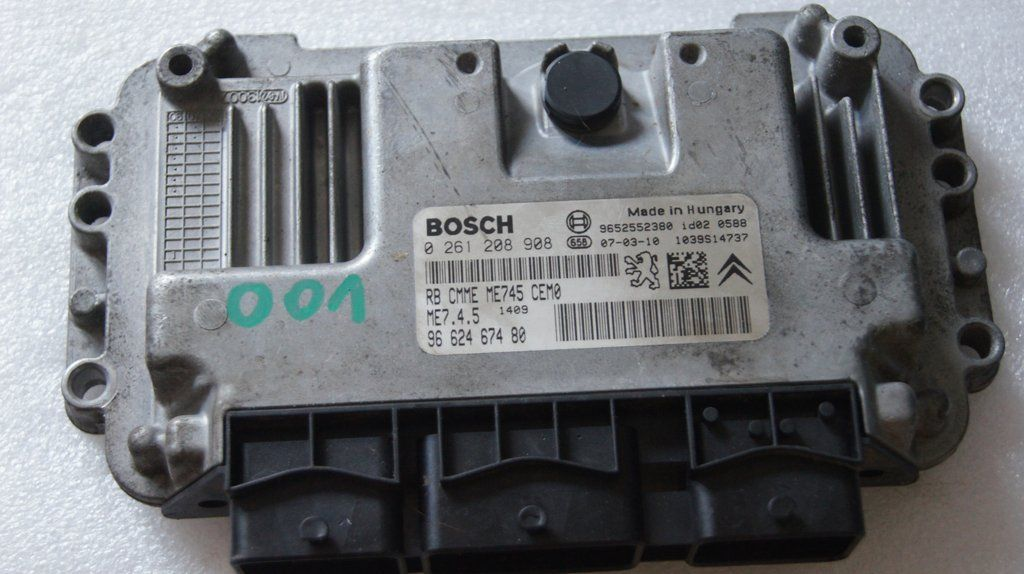CITROEN XSARA PICASSO 1 6 16V ENGINE CONTROL UNIT ECU
