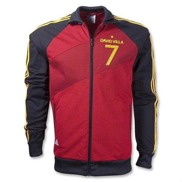cf10afdc9d6 adidas David Villa Track Jacket #Spain | 2012/2013 Jackets | Jackets ...
