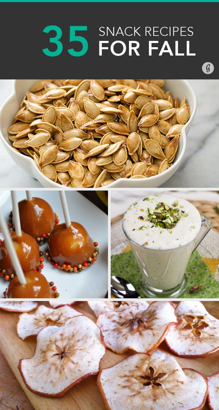 35 Healthy Fall Snacks That Will Make You Grateful Summer