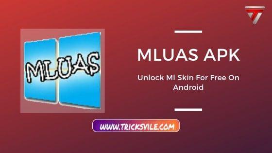 Mluas APK Free Download [Ml Skin Injector] 2
