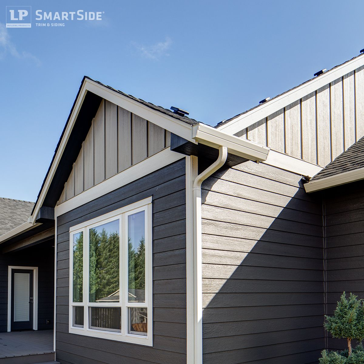 Lp smartside panel siding comes in a variety of options Engineered wood siding colors