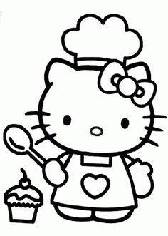 Hello Kitty Hello Kitty Imprimible Papel Pintado De Hello Kitty Hello Kitty Para Colorear