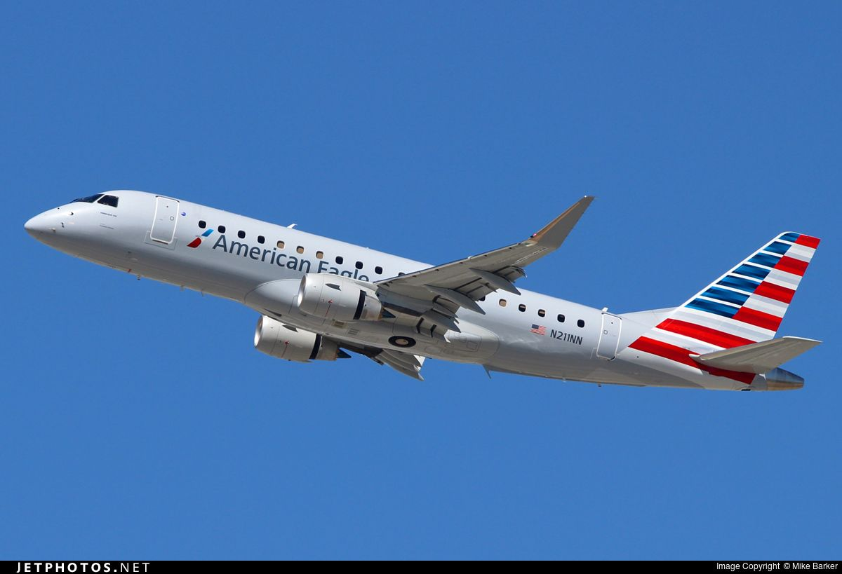 Photo of N211NN Embraer 170-200LR by Mike Barker
