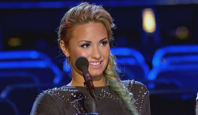 Demi Lovato Watches As Contestants Give It Their All During Boot