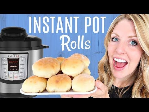 These rolls can be made with or without an Instant Pot ...