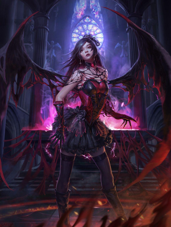 Девочка демон картинки красивые
