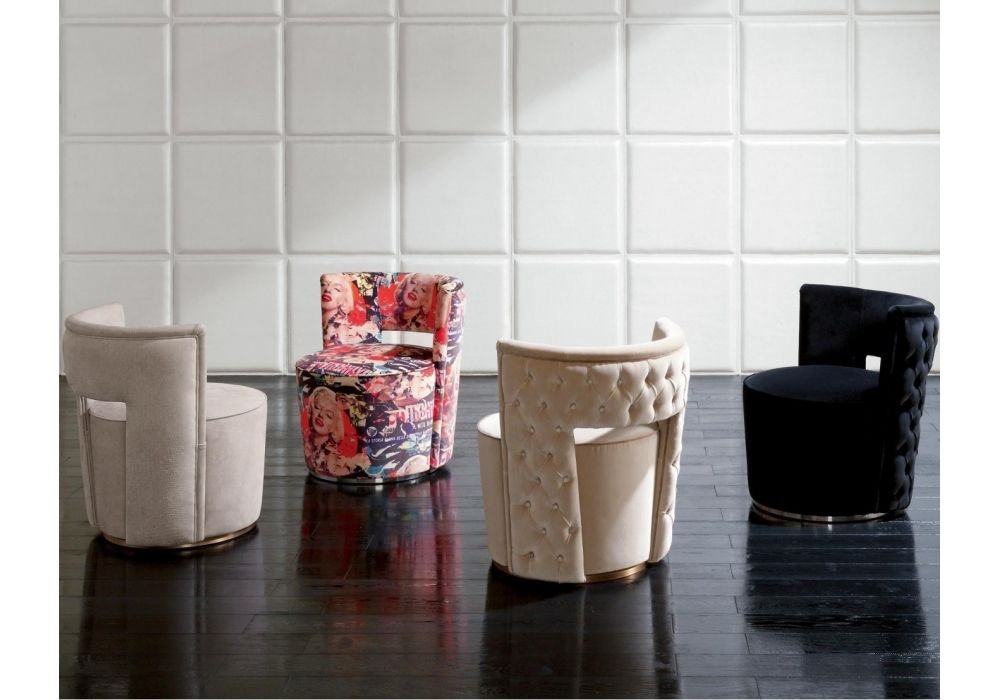 Pouf Arredamento ~ Giotto pouf rugiano bellissimo design living poltroncine con