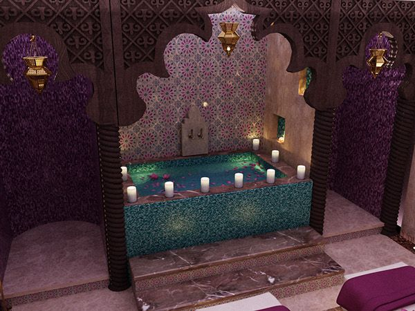moroccan bath for a hotel | petras | pinterest | bath, treatment