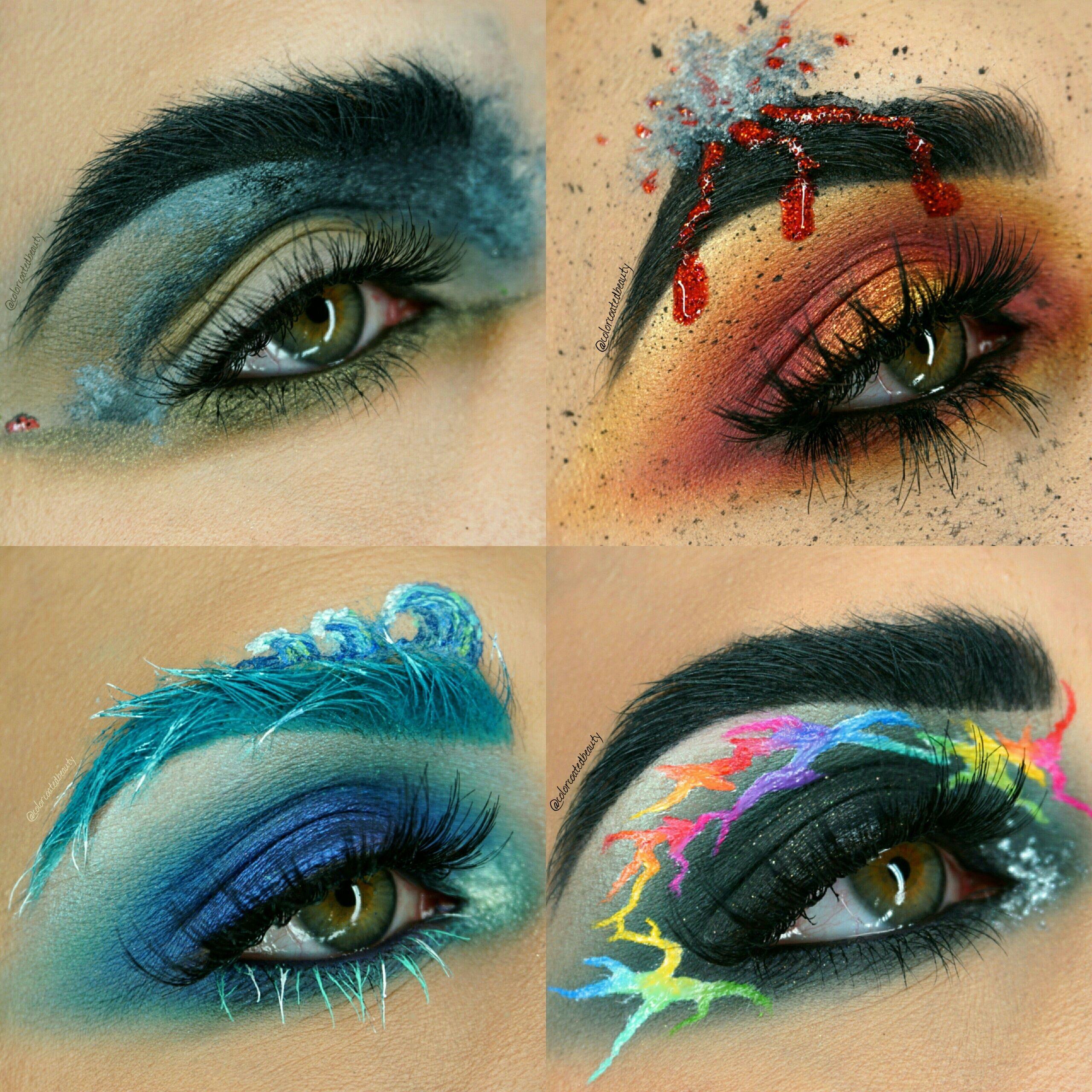 VOLCANO Makeup Tutorial (With images) Makeup geek
